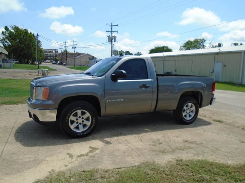 2008 GMC Sierra 1500 SLE  2WD REGULAR CAB  - Quitman TX
