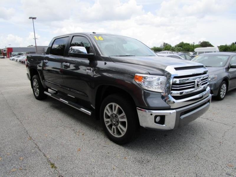 2016 toyota tundra for sale in florida. Black Bedroom Furniture Sets. Home Design Ideas