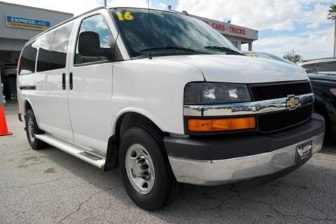 2016 Chevrolet Express Passenger for sale in Melbourne, FL