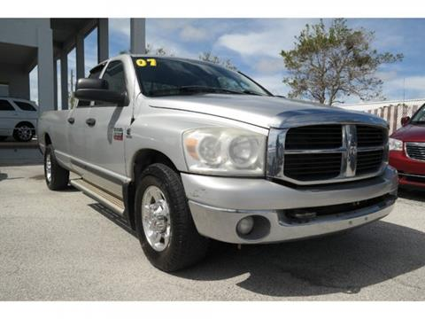 2007 Dodge Ram Pickup 2500 for sale in Melbourne, FL