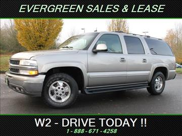 2002 Chevrolet Suburban for sale in Federal Way, WA