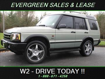 2003 Land Rover Discovery for sale in Federal Way, WA