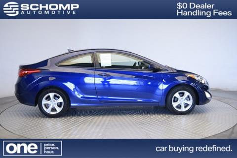 2013 Hyundai Elantra Coupe for sale in Highlands Ranch, CO