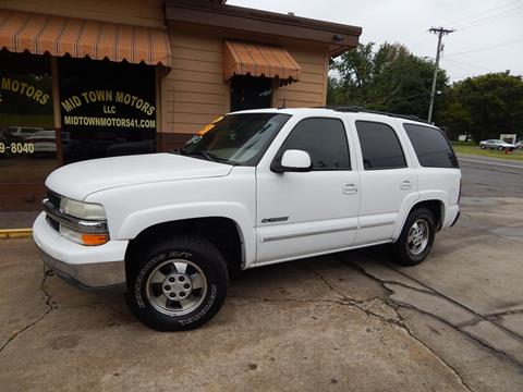 2002 Chevrolet Tahoe for sale in Greenbrier, TN