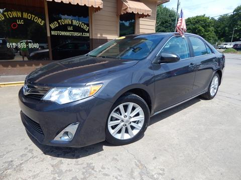 2012 Toyota Camry for sale in Greenbrier, TN