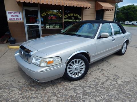 2008 Mercury Grand Marquis for sale in Greenbrier, TN