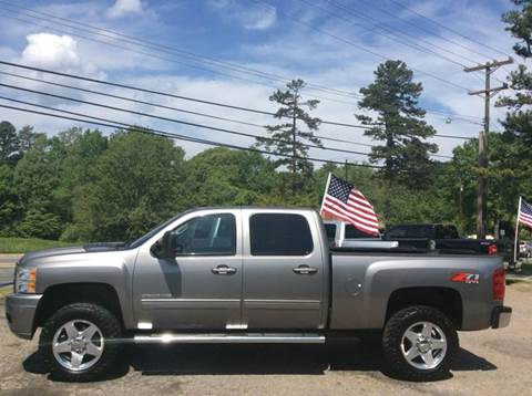 2013 Chevrolet Silverado 2500HD for sale in Huntersville, NC