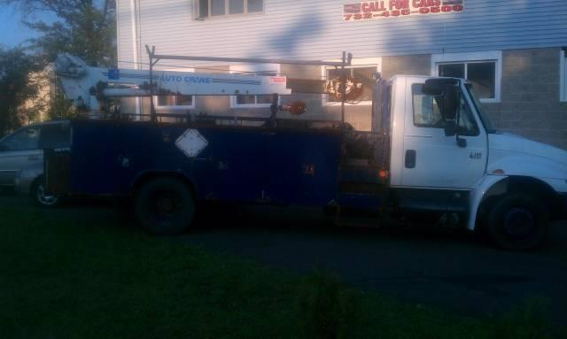 2002 International 4300 Crane - passaic NJ