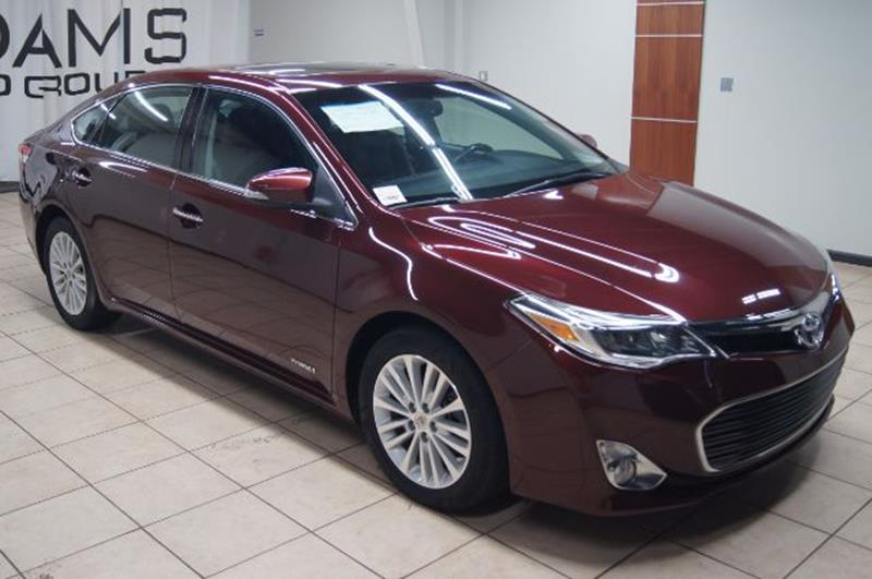 used toyota avalon hybrid for sale. Black Bedroom Furniture Sets. Home Design Ideas