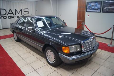 Nice 1989 Mercedes Benz 420 Class For Sale In Charlotte, NC