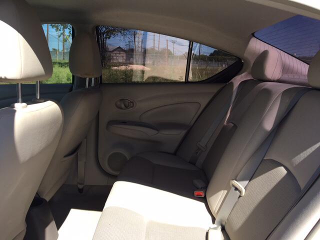 2012 Nissan Versa 1.6 SV 4dr Sedan - San Antonio TX