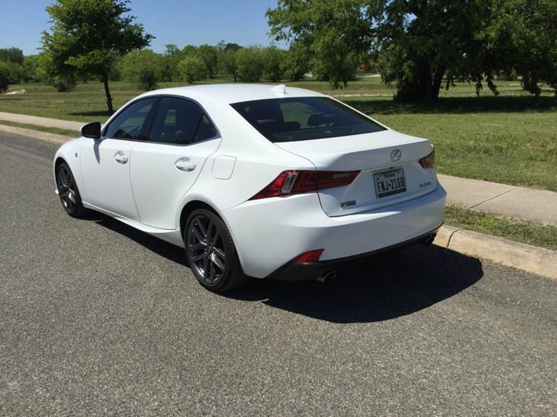 2015 Lexus IS 250 4dr Sedan - San Antonio TX