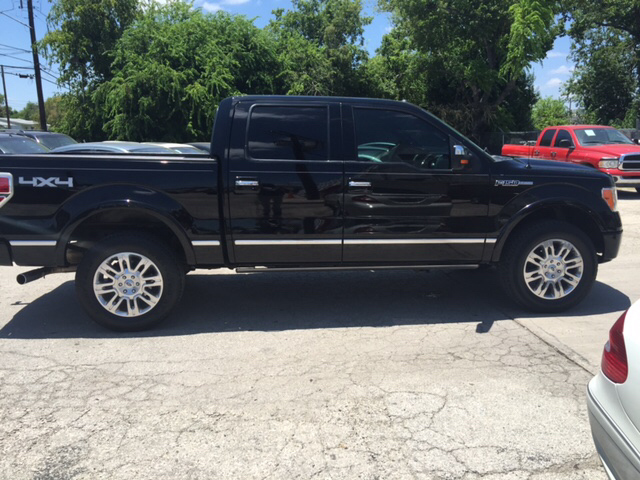 2011 Ford F-150 Platinum 4x4 4dr SuperCrew Styleside 5.5 ft. SB - San Antonio TX