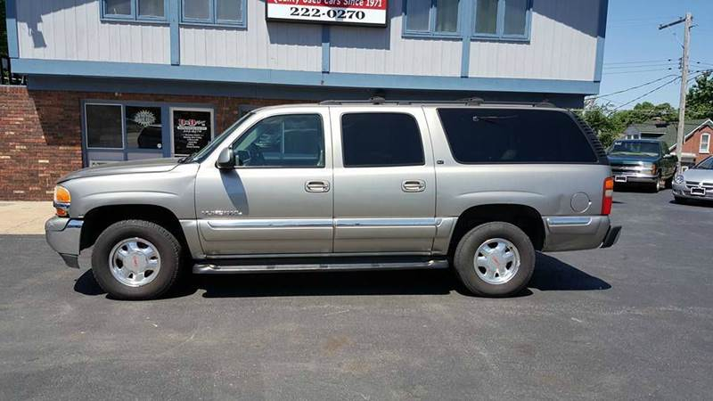 2000 gmc yukon xl 4dr 1500 sle 4wd suv in belleville il. Black Bedroom Furniture Sets. Home Design Ideas
