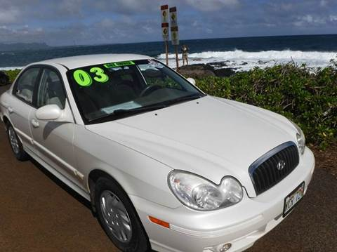 Hyundai Sonata For Sale Hawaii