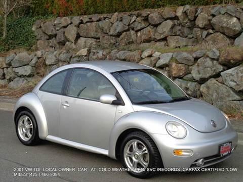 2001 Volkswagen New Beetle for sale in Kirkland, WA