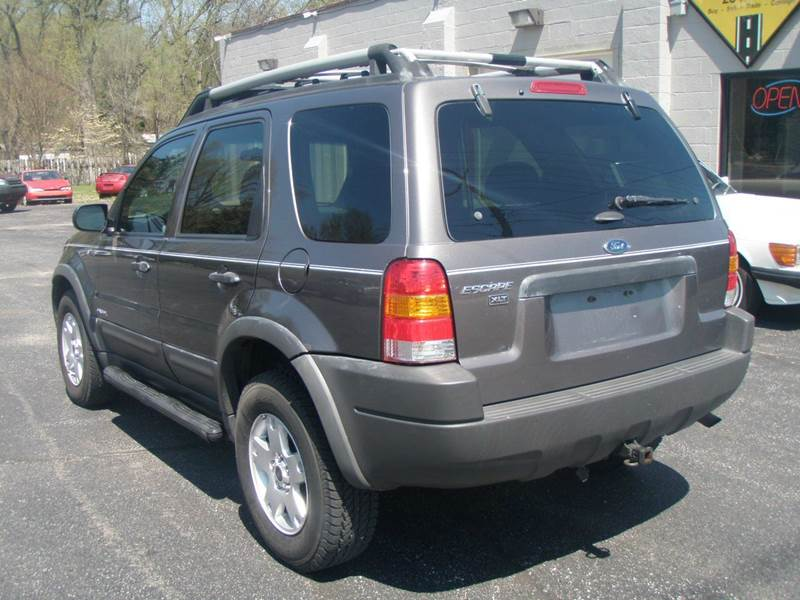 2002 ford escape xlt choice 4wd 4dr suv in mishawaka in autoworks. Black Bedroom Furniture Sets. Home Design Ideas