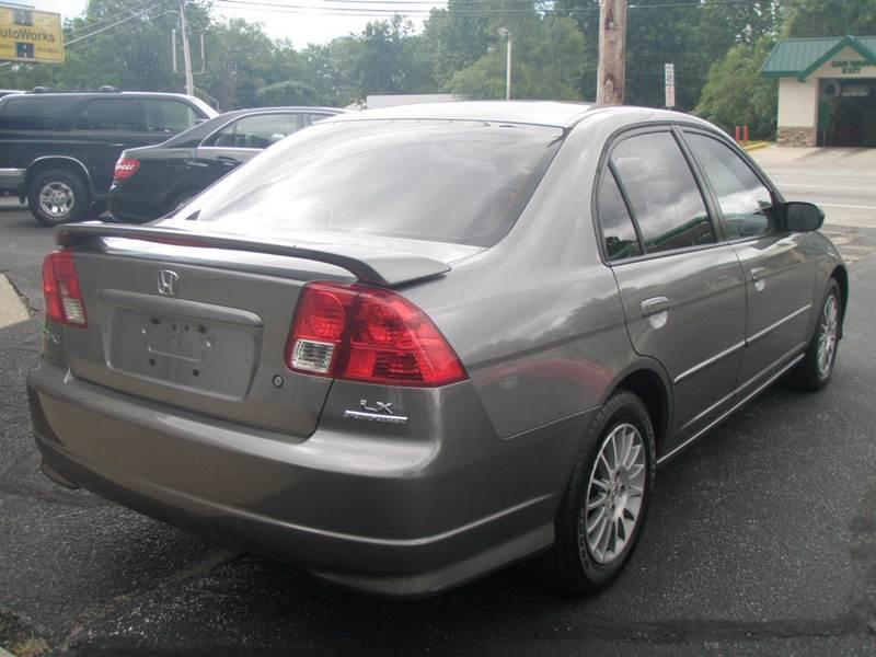 2005 honda civic lx manual sedan