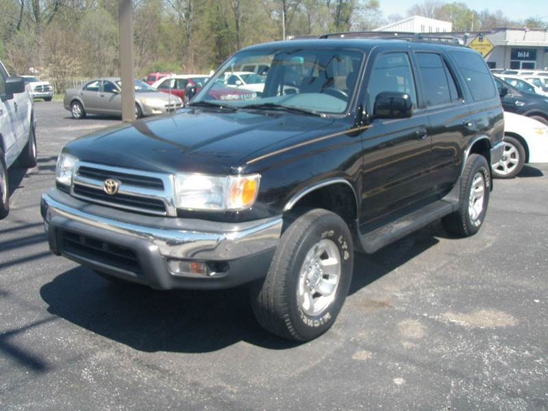 1999 toyota 4runner 4dr sr5 4wd suv in mishawaka in. Black Bedroom Furniture Sets. Home Design Ideas