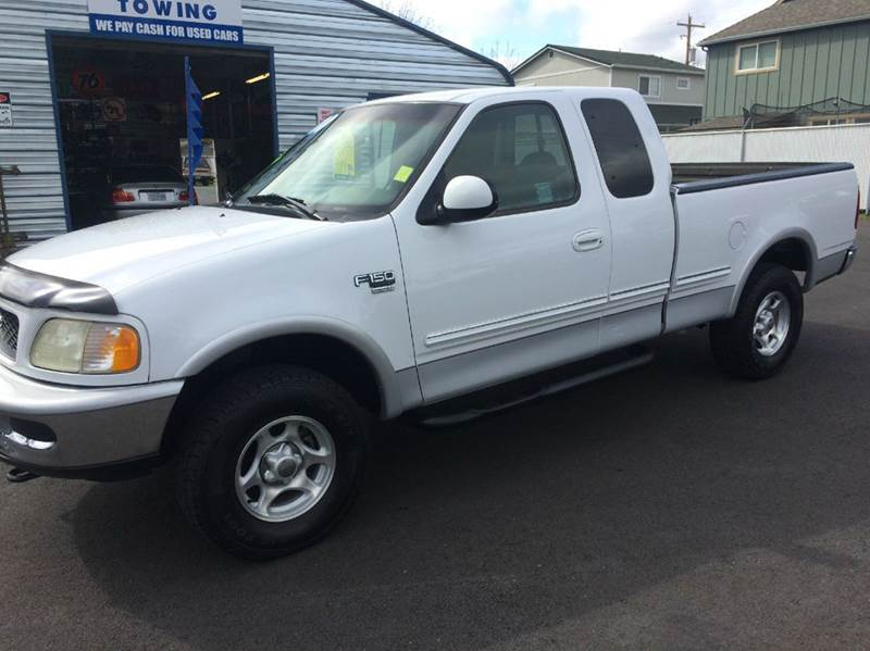 1998 ford f 150 3dr xlt 4wd extended cab sb in grants pass. Black Bedroom Furniture Sets. Home Design Ideas