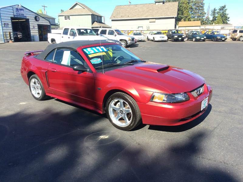 2003 Ford Mustang GT Deluxe 2dr Convertible - Grants Pass OR