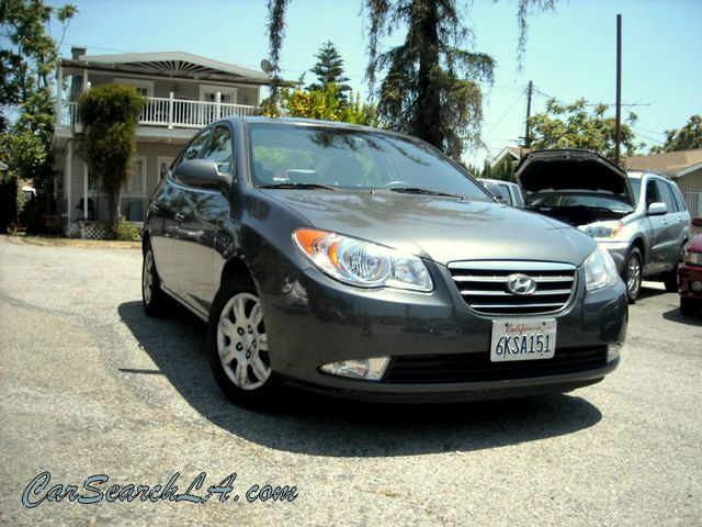 2007 HYUNDAI ELANTRA GLS gray clean title no accidents clean title 1-owner  private party speci
