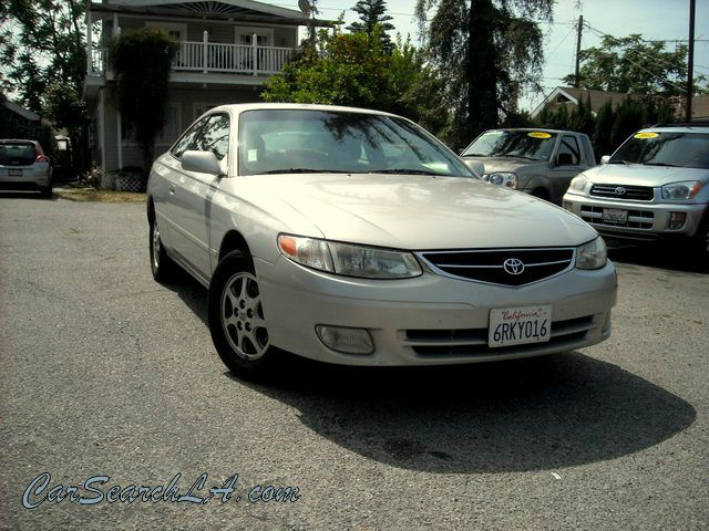 2000 TOYOTA CAMRY SOLARA SE silver clean title clean carfax no accidents  private party special