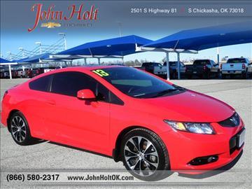 2013 Honda Civic for sale in Chickasha, OK