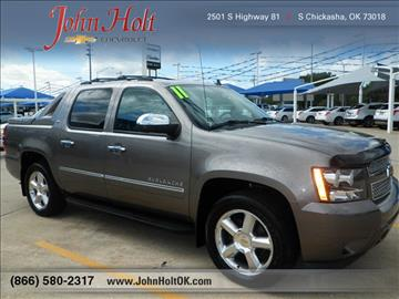 2011 Chevrolet Avalanche for sale in Chickasha, OK