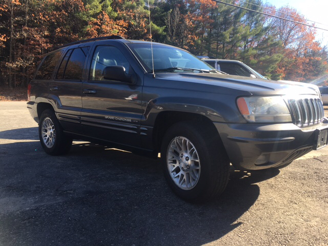 2002 Jeep Grand Cherokee Limited 4WD 4dr SUV - Winchester NH