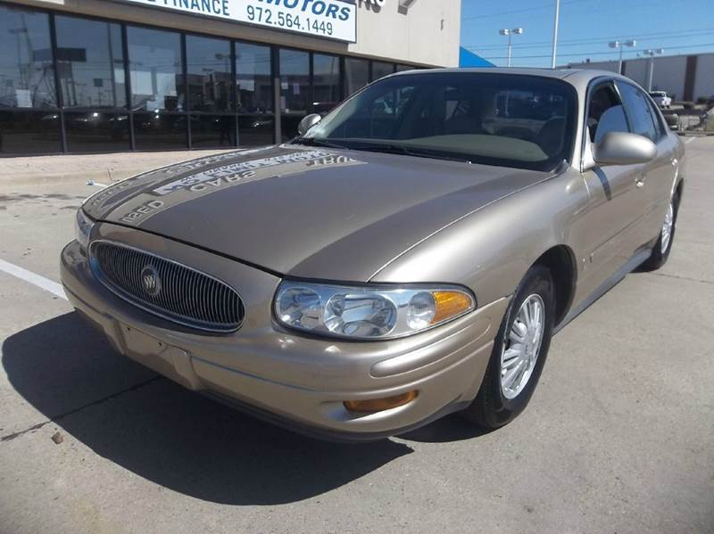 2005 buick lesabre limited 4dr sedan in mesquite tx no. Black Bedroom Furniture Sets. Home Design Ideas