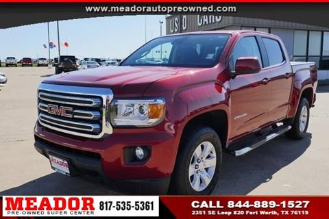 2016 GMC Canyon for sale in Fort Worth, TX