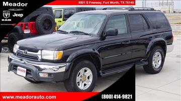 2002 Toyota 4Runner for sale in Fort Worth, TX