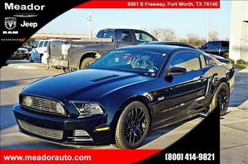 2013 Ford Mustang for sale in Fort Worth, TX