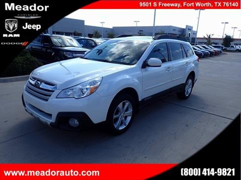 2013 Subaru Outback for sale in Fort Worth, TX