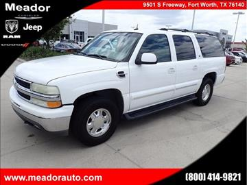 2002 Chevrolet Suburban for sale in Fort Worth, TX