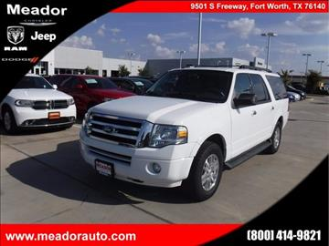 2011 Ford Expedition EL for sale in Fort Worth, TX