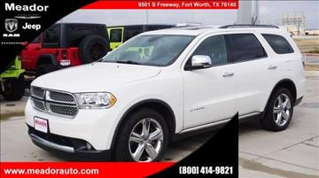 2011 Dodge Durango for sale in Fort Worth, TX