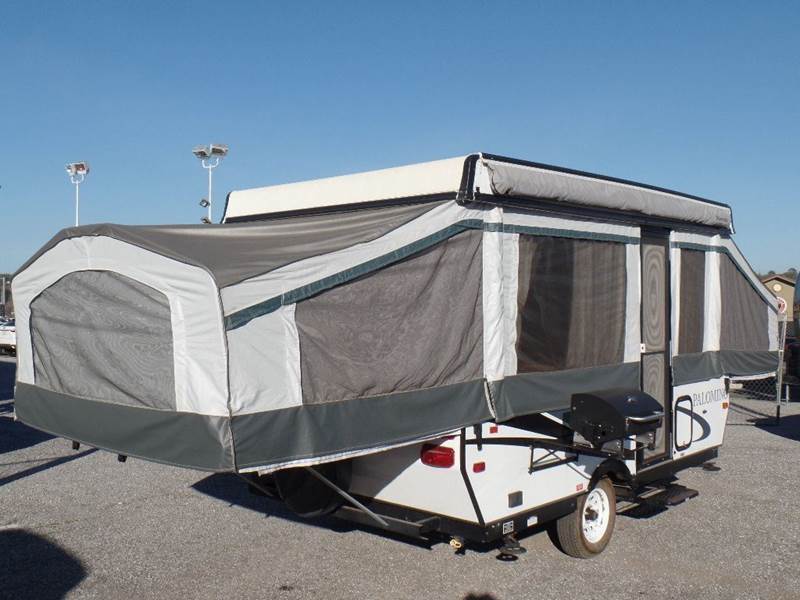 $11588 & 2013 Forest River Palomino 4124 POP UP TENT TRAILER In AUBURN CA ...