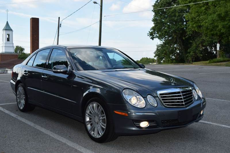 2008 mercedes benz e class e350 4matic awd 4dr sedan in for Mercedes benz knoxville