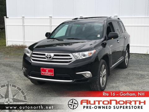 2013 Toyota Highlander for sale in Gorham, NH