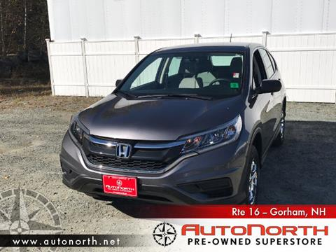 2015 Honda CR-V for sale in Gorham, NH