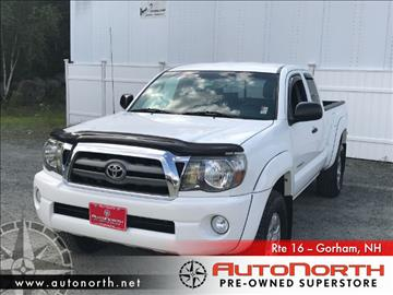 2010 Toyota Tacoma for sale in Gorham, NH
