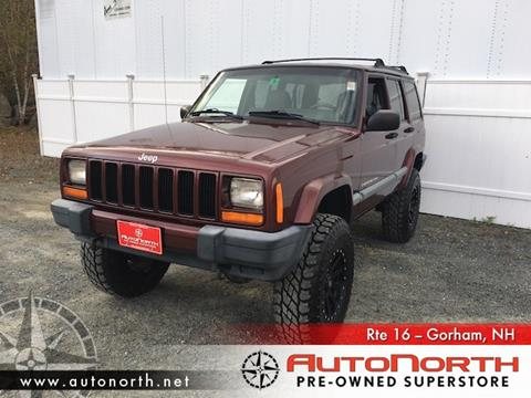 2001 Jeep Cherokee for sale in Gorham, NH