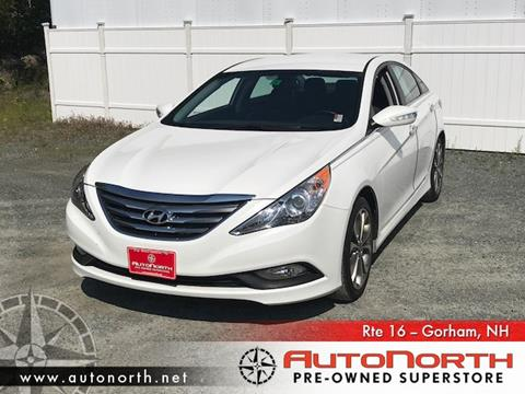 2014 Hyundai Sonata for sale in Gorham, NH