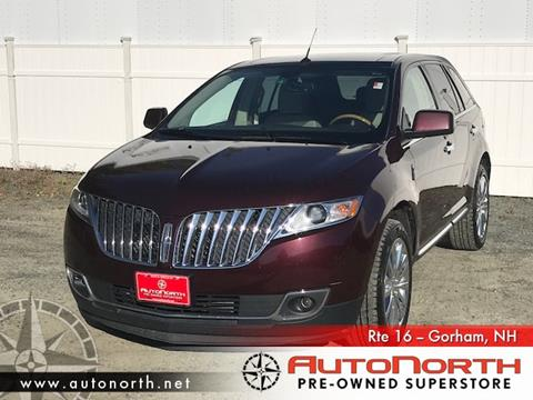 2011 Lincoln MKX for sale in Gorham, NH