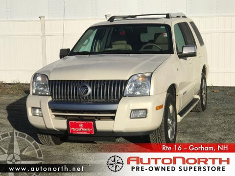 2007 Mercury Mountaineer for sale in Gorham NH