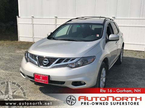 2014 Nissan Murano for sale in Gorham NH