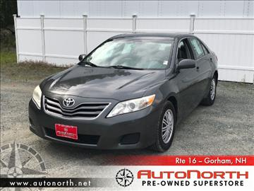 2010 Toyota Camry for sale in Gorham, NH