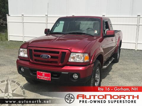 2010 Ford Ranger for sale in Gorham NH